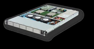 FlacheSAN1L-D:D3 1U 20ベイ(7mm) Intel Xeon DPサーバー
