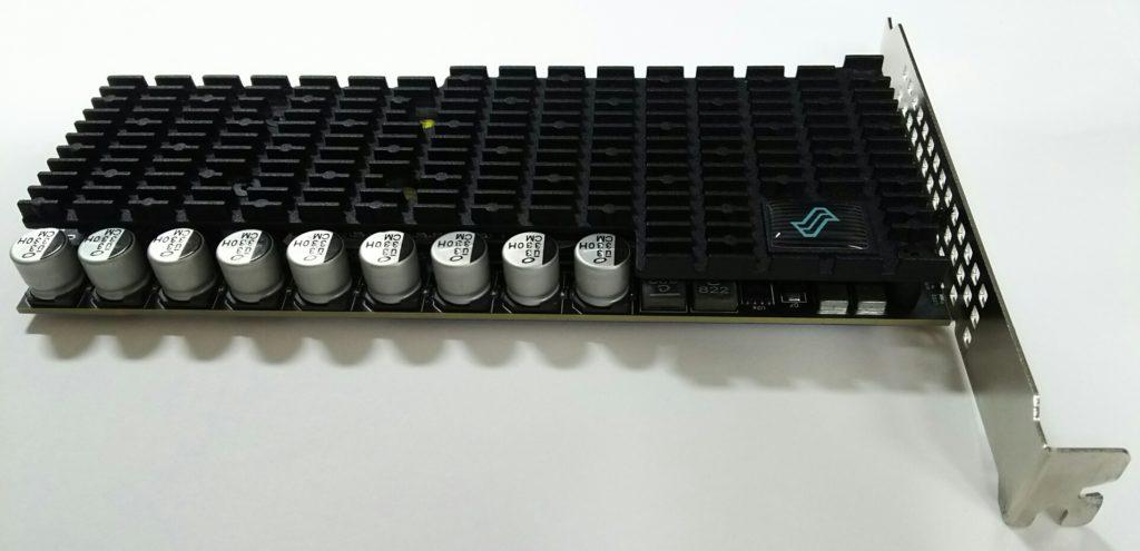 LIQID NVMe SSDの導入と初期設定