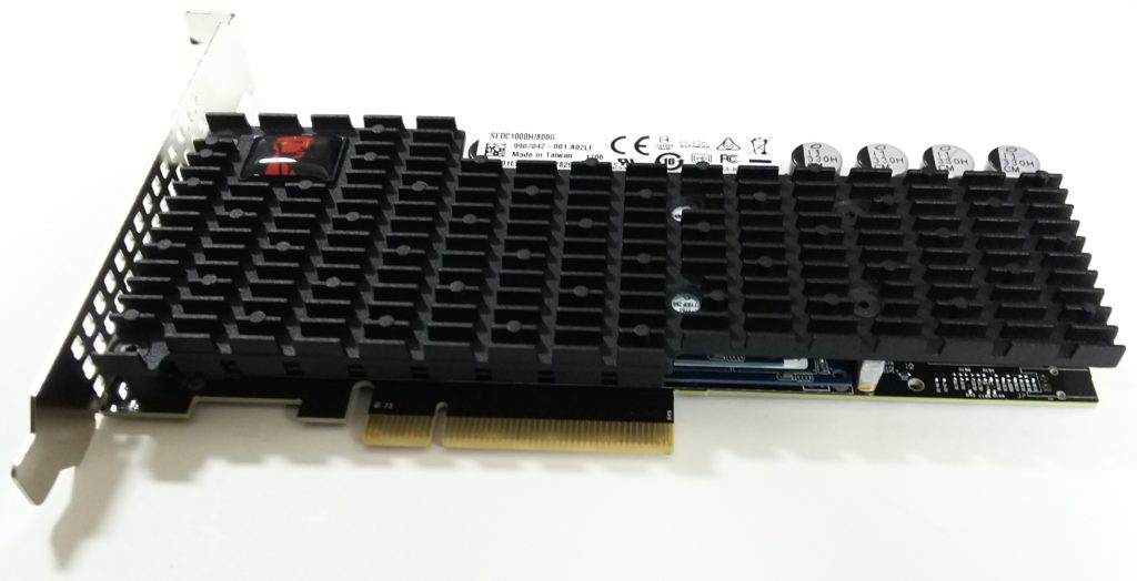 Kingston NVMe SSD(800GB) パフォーマンス測定結果