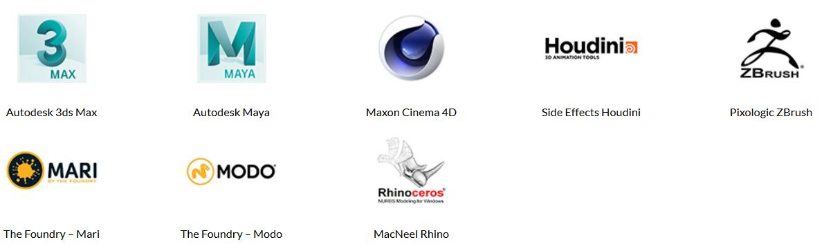 3D Digital Content Software