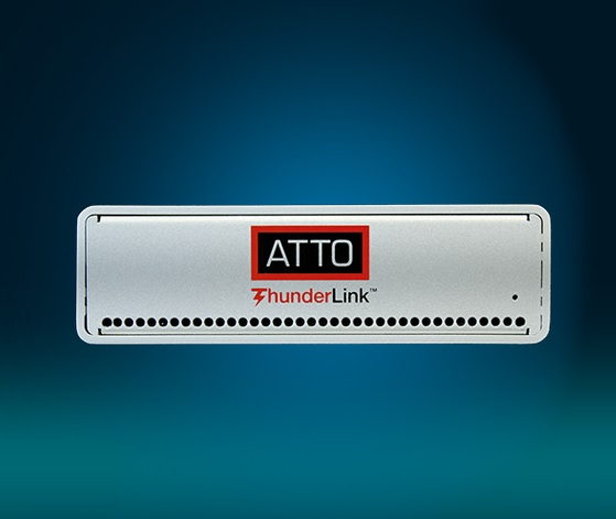 ATTO ThunderLink Front panel